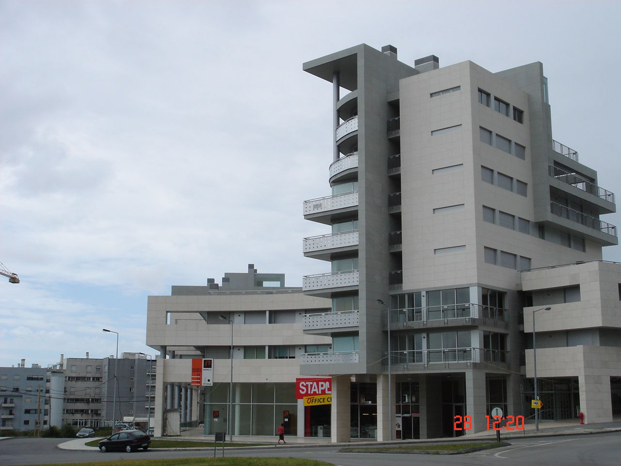 Edifício da Rotunda em Viana do Castelo