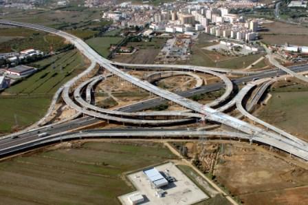 IC1 – Carregado da A10 – Auto Estrada Bucelas / Carregado/IC3 – Nó do Carregado