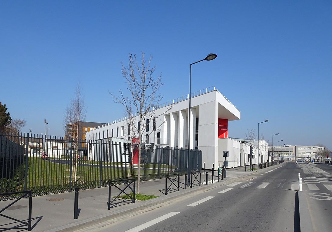 Quartel Bombeiros de Pierrefitte – Paris