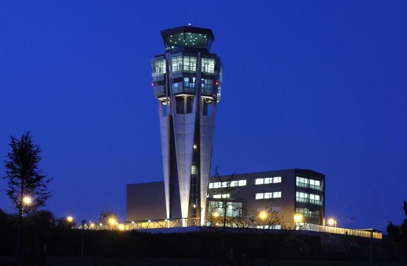 Torre de Control do Aeroporto de Santigo de Compostela